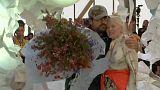 Vivienne Westwood y su marido revolucionan París