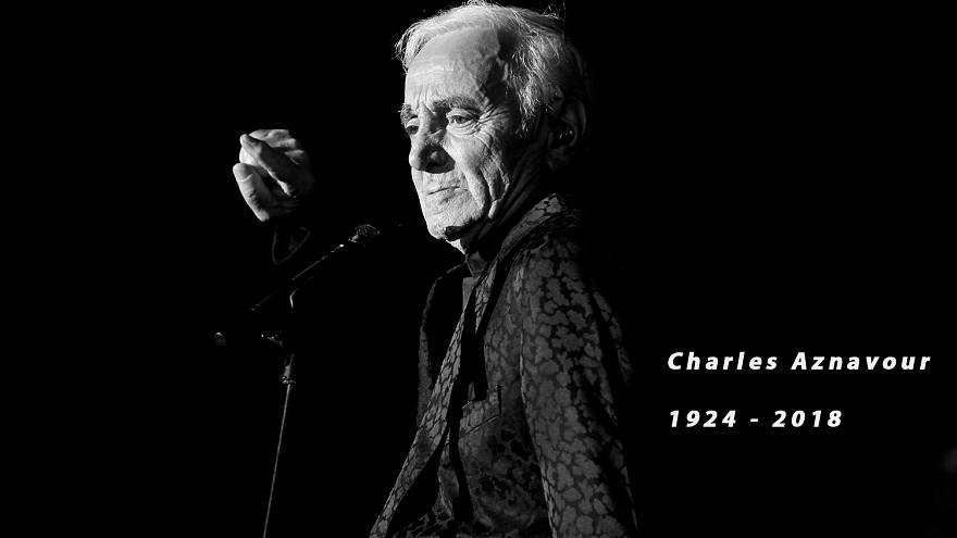 Πέθανε σε ηλικία 94 ετών ο Γάλλος τραγουδιστής Σαρλ Αζναβούρ