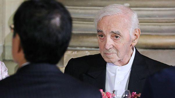 Sänger Charles Aznavour mit 94 Jahren gestorben