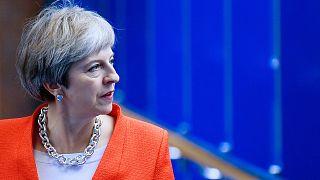 Theresa May en la Conferencia del Partido Conservador en Birmingham