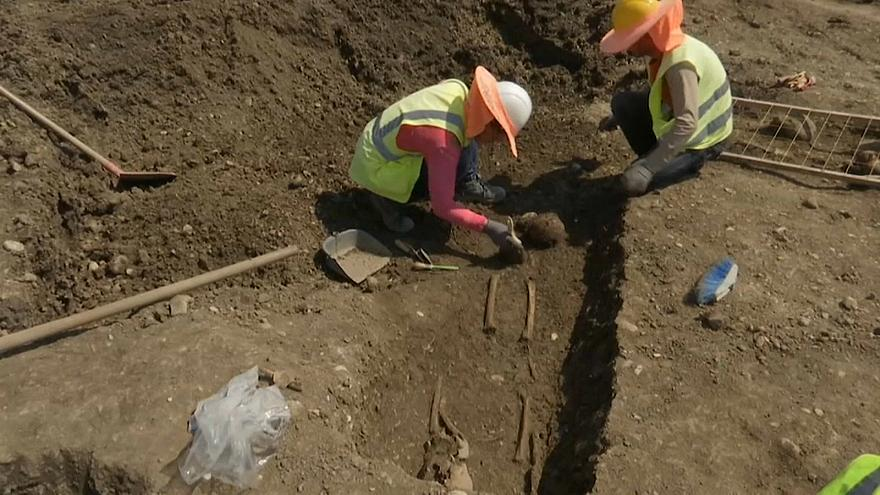 Watch: Pipeline construction workers find dozens of ancient sites in Albania