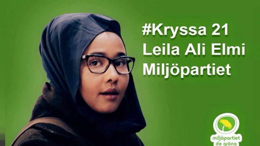 Leila Elmi: İsveç Parlamentosunun ilk müslüman ve başörtülü vekili