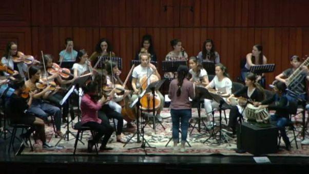 کنسرت «زهره»؛ نوای ساز زنان افغان در لیسبون