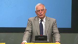 """Borrell: """"El orden público en Cataluña debe garantizarlo la Generalitat"""""""