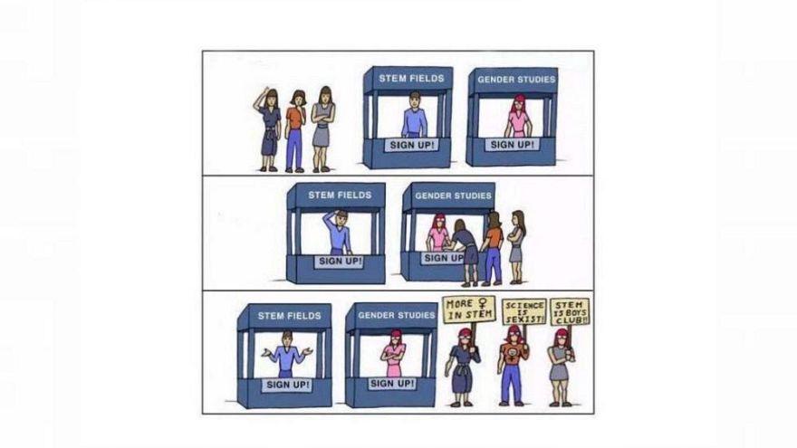 """""""¿Las mujeres discriminadas? Es todo lo contrario"""": la tesis de un investigador enfurece a la CERN"""