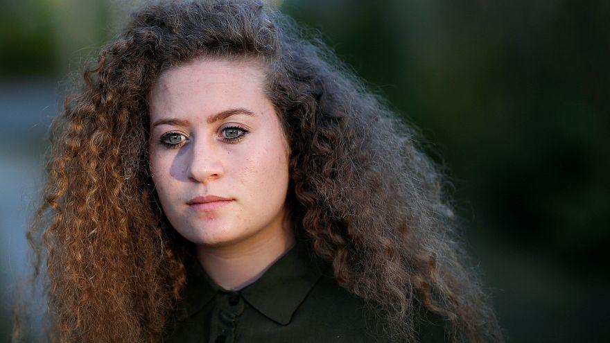Filistinli 'cesur kız' Tamimi'yi davet eden Real Madrid'e İsrail'den tepki