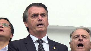 Bolsonaro com 31% das intenções de voto para a presidência (Ibope)
