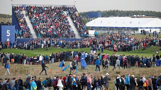 Ryder Cup: Woman loses eye-sight after being hit by a golf ball