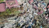 Indonesia sigue luchando para intentar salvar víctimas