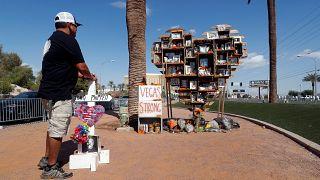 Gedenken an die Opfer des Massakers von Las Vegas