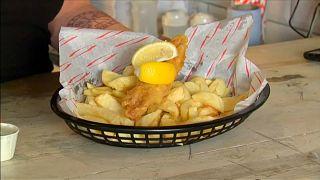 Schmeckt's? Fish & Chips ohne Fisch