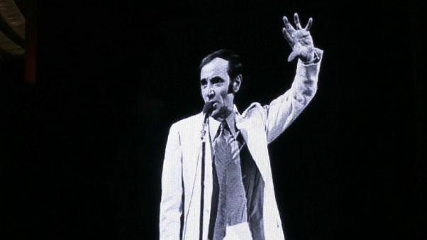 Aznavour, cordoglio in tutto il mondo
