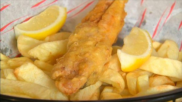 """""""Fish and Chips"""" vegano já existe em Londres"""