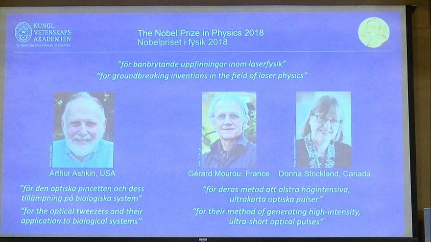 """""""Нобель"""" по физике за лазерный прорыв"""