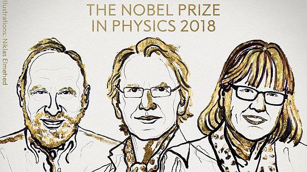 Τρεις πρωτοπόροι της Φυσικής των laser βραβεύθηκαν με το Νόμπελ Φυσικής