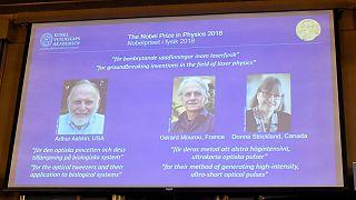 جایزه نوبل فیزیک سال ۲۰۱۸ به ۳ دانشمند آمریکایی، فرانسوی و کانادایی تعلق گرفت