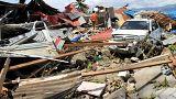 A dura realidade pós-tsunami na Indonésia