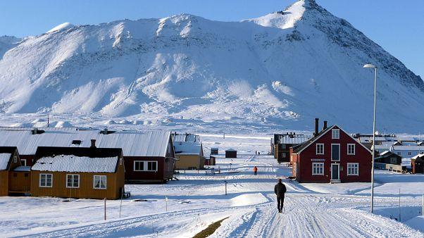 Норвежский посёлок на Шпицбергене