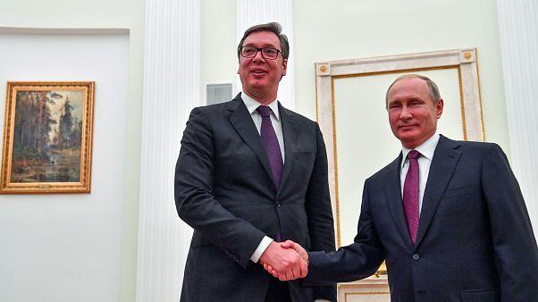 Moszkvában a szerb államfő