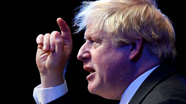 Boris Johnson tears down May's Chequers Brexit plan in conference speech