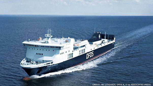 Ferry with hundreds of people on board powerless in Baltic Sea