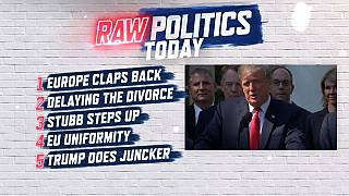 Raw Politics: EU leaders snap back at Hunt, Stubb set to stand and is diversity dead in EU politics?