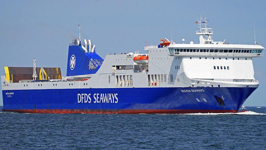 Yandığı iddia edilen Litvanya'ya ait gemiden açıklama: Yangın çıkmadı, yolcular güvende