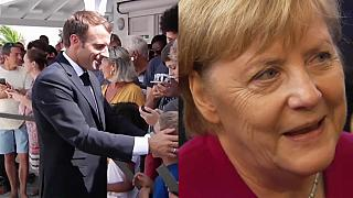 Raw Politics: Macron and Merkel lead the way in public confidence survey