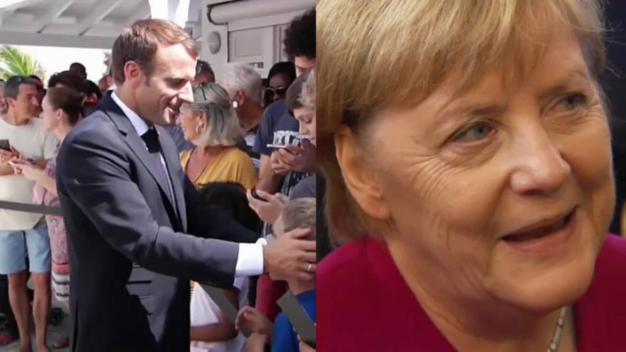 Raw Politics: Macron and Merkel lead the way in public confidence survey