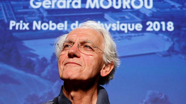 Gérard Mourou, l'un des trois lauréat du Nobel de Physique 2018