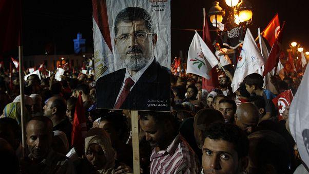 حملة من لندن لتحسين ظروف اعتقال محمد مرسي