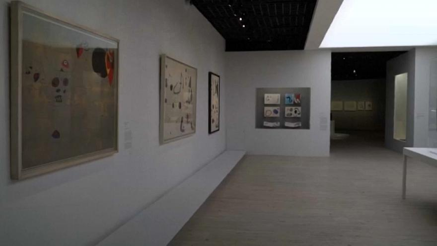 Joan Miro retrospective opens in Paris