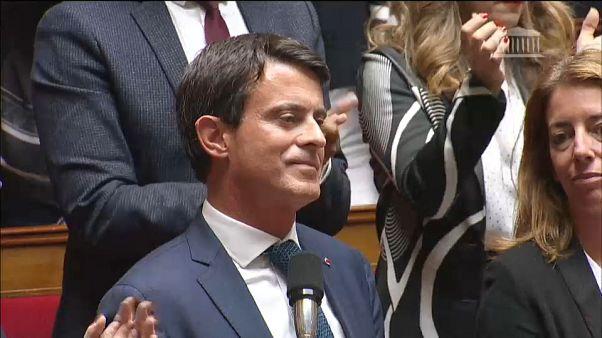Manuel Valls à l'assemblée nationale française