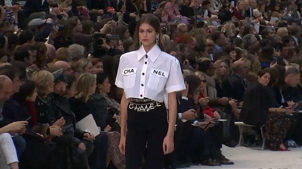 Life's a beach at Chanel for Paris Fashion Week