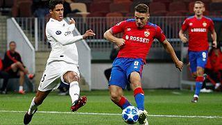 Nikola Vlašić assina o único golo do CSKA-Real Madrid
