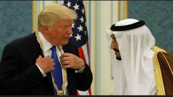 Trump'tan Suudi Kralı'na: Biz olmazsak iktidarınız iki haftada biter