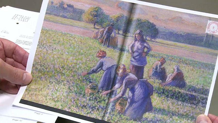 Quadro di Pissarro torna ai legittimi proprietari