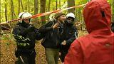 Hambacher Forst wird abgeriegelt