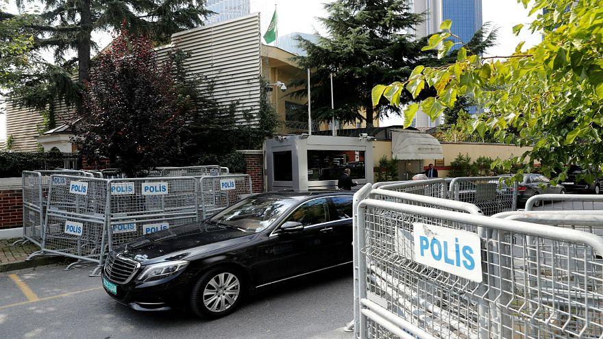 مسؤولون أتراك: خاشقجي لا يزال في قنصلية الرياض باسطنبول