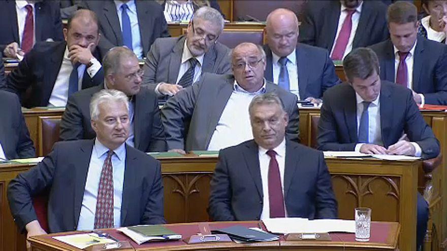 Országgyűlési vita a Sargentini-jelentésről