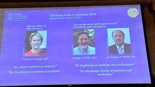 2018 Nobel Kimya ödülünün sahipleri belli oldu