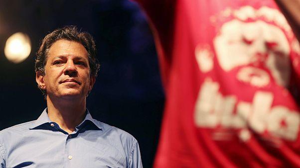 Fernando Haddad substituiu Lula da Silva como candidato presidencial do PT