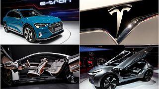 Elektrikli ve yeni konsept araçlar Paris Otomobil Fuarı'nın gözdesi