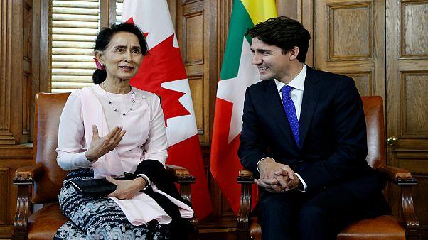 مجلس الشيوخ الكندي يثمن قرار سحب الجنسية الفخرية من أونغ سان سو شي