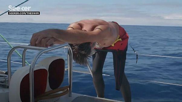 Cruzar a nado el Pacífico y denunciar la contaminación por plásticos
