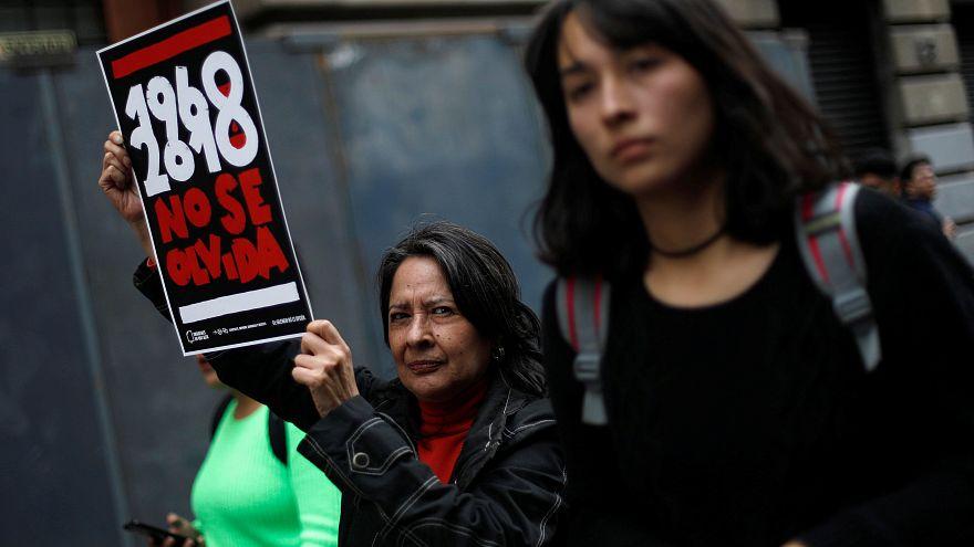 """México recuerda la matanza estudiantil de 1968: """"El 2 de octubre no se olvida"""""""