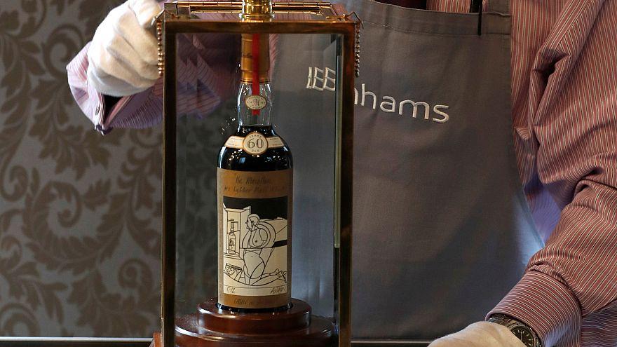 Több mint 300 millió forintot ér a világ legdrágább skót whiskyje