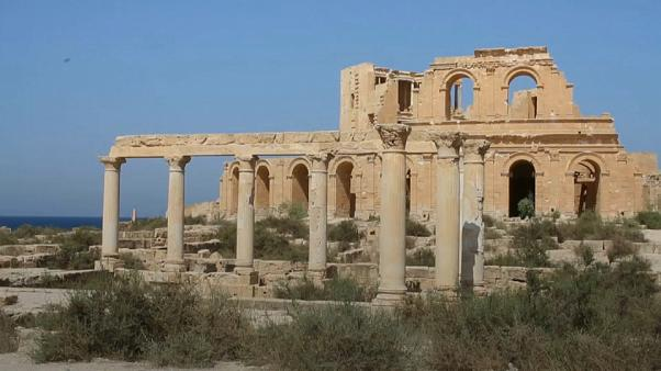 """Ancient Roman site Sabratha classed """"endangered"""" by UNESCO"""