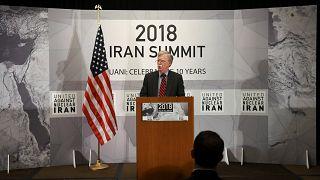 جون بولتون: هناك تقارير تشير إلى أن إيران تعزز أنشطتها النووية