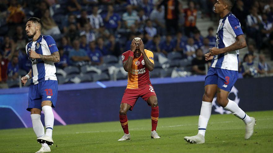 Galatasaray liderliği Porto'da bıraktı: 1-0
